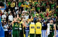 Lietuvos rinktinė – pajėgiausiame pasaulio krepšinio čempionato burtų krepšelyje