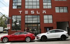 Tesla Model S ir Tesla Model X