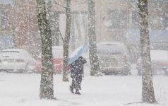 Klimato kaita padvigubino atšiaurių žiemų tikimybę