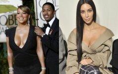 Mariah Carey, Nickas Cannonas, Kim KardashianMariah Carey, Nickas Cannonas, Kim Kardashian