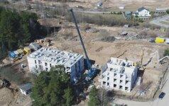 Vietoj užteršto šiukšlyno Vilniuje netrukus iškils nauji namai