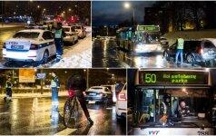 Ypatingi reido Vilniuje rezultatai - negi vairuotojai susiprato?