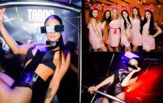 Kauno klube – seksualios šokėjos ir mergvakaris