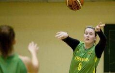 Prancūzijos moterų krepšinio pirmenybių rungtynėse trys lietuvės pelnė 25 taškus