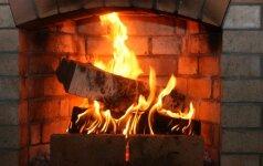 Namų šilumos kūrimas: ką rinktis – židinį ar krosnelę?