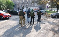 Pasieniečiai sutriuškino tarptautinę nusikalstamą grupuotę