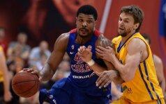 """R. Kurtinaičio įpėdinis neišsisuko: CSKA dramatiškai užbaigė """"Chimki"""" sezoną"""