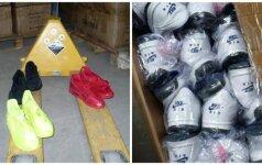 """Muitininkai sulaikė tūkstančius įtartinų """"Nike"""" batelių"""