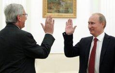 Jean Claude Juncker, Vladimir Putin