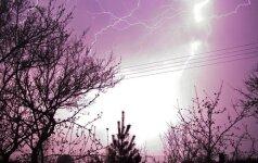 Orai: bus ir karščio, ir perkūnijos