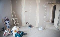 Kad remontuodami butą negautumėte baudos: ką reikia žinoti