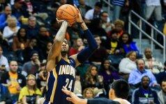"""""""Pacers"""" klubas vėl tapo NBA lygos absoliučiu lyderiu"""