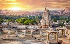 Senoviniame Indijos mieste lietuvis vos išvengė dūrio