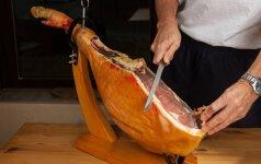 Ispaniško kumpio pjaustymo menas: kokio storio turi būti tobulas griežinėlis?