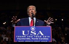 Bauginanti prognozė: D. Trumpas turi potencialo sugriauti JAV didybę