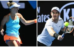 Angelique Kerber ir Andy Murray
