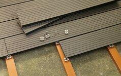 5 medienos kompozito terasos lentų pranašumai prieš impregnuotas lentas