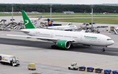 Turkmen Airlines lėktuvas