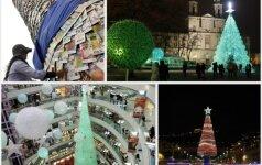 Top 10 keisčiausių kalėdinių eglių
