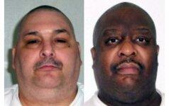 Arkanzaso valstijoje per kelias valandas įvykdytos egzekucijos dviem kaliniams