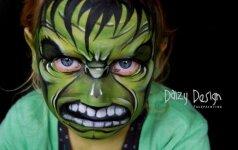 Įspūdinga: 3 savo vaikus veido tapytoja paverčia įvairiausiais personažais FOTO