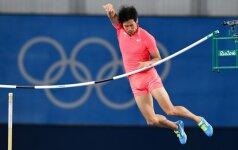 Olimpinis Rio: japonų atletą išgarsino peniu numušta kartelė (VIDEO)