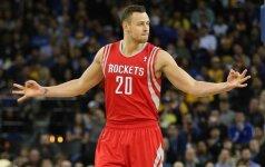 Turkijos milijonierius dominantis D. Motiejūnas NBA palikti neplanuoja