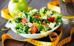 Šaldytuvas PO ŠEŠIŲ: 5 gardžios, bet nekaloringos salotos, kurios saugos jūsų figūrą