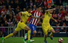 Ispanijos lyga: Atletico – Villarreal