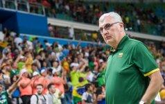 Rinktinės trenerio ieškosianti LKF pirmiausia kalbėsis su J. Kazlausku