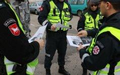 Kauną šukuoja gausios policijos pajėgos