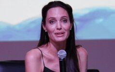 A. Jolie išvaizda baugina – aktorės svoris nesiekia ir 40 kilogramų FOTO