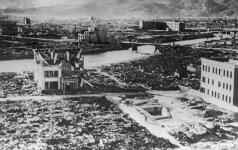Mirė pirmoji apie Hirošimos atominį bombardavimą pranešusi japonė