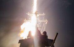 JAV ir Japonijos bandymas numušti raketą buvo nesėkmingas