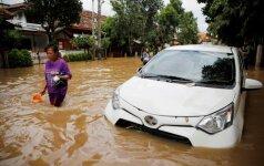 Potvyniai Džakartoje