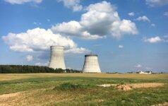 Astravo elektrinės aikštelėje žuvo darbininkas