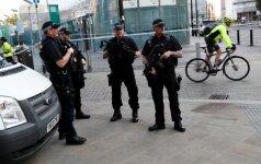 Mančesteryje vyksta antiteroristinė operacija, žmonės raginami palikti teritoriją