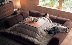 Darau pats: japoniškas išradimas, kurio pagalba po antklode norisi likti visą dieną