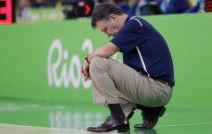J. Kazlausko pėdomis: fiasko patyrusios Brazilijos rinktinės treneris paliko postą