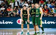 Lietuvos krepšinio rinktinė turi naują kapitoną