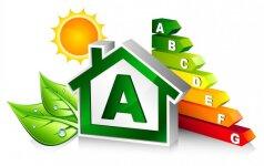 Statomiems namams tuoj įsigalės nauji energinio naudingumo reikalavimai