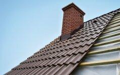 Kaip apšiltinti šlaitinį stogą?