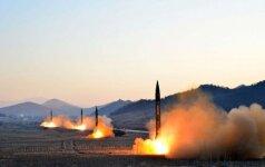 Ekspertai įspėja apie naujus Šiaurės Korėjos branduolinius bandymus