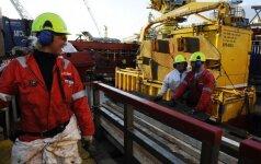 Darbuotojai Norvegijoje, naftos pramonė