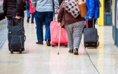 Nutukusiems lėktuvų keleiviams - papildomi bagažo apribojimai?