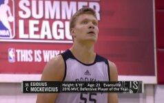"""Į NBA besibraunantis E. Mockevičius turi atsarginių variantų, tarp kurių – ir """"Warriors"""""""