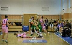 Mače su čempionėmis taškus pelnė tik trys Kauno krepšinio ekipos žaidėjos