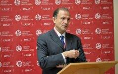 NBA viceprezidentui – LSU Garbės daktaro vardas