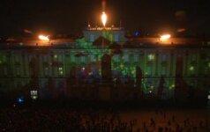 Lione tūkstančiai stebėjo įstabų šviesų spektaklį