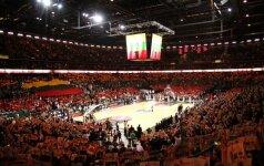 """Per LKL finalo mačą """"Žalgirio"""" arena sulauks trimilijonojo lankytojo"""